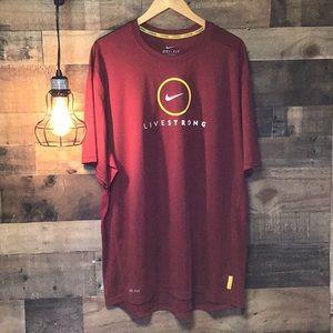 Nike Livestrong Men's Shirt NWOT